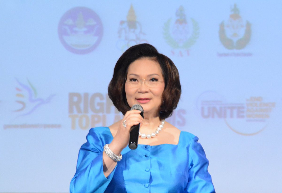 Thailand's Khunying Patama Leeswadtrakul has been appointed Culture and Olympic Heritage Commission chair ©Twitter