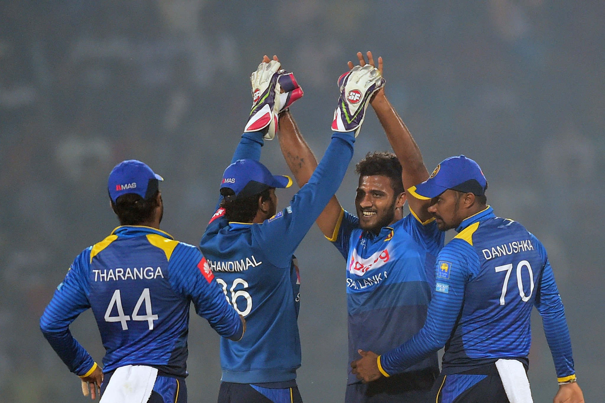 Shehan Madushanka has played three international matches for Sri Lanka ©Getty Images