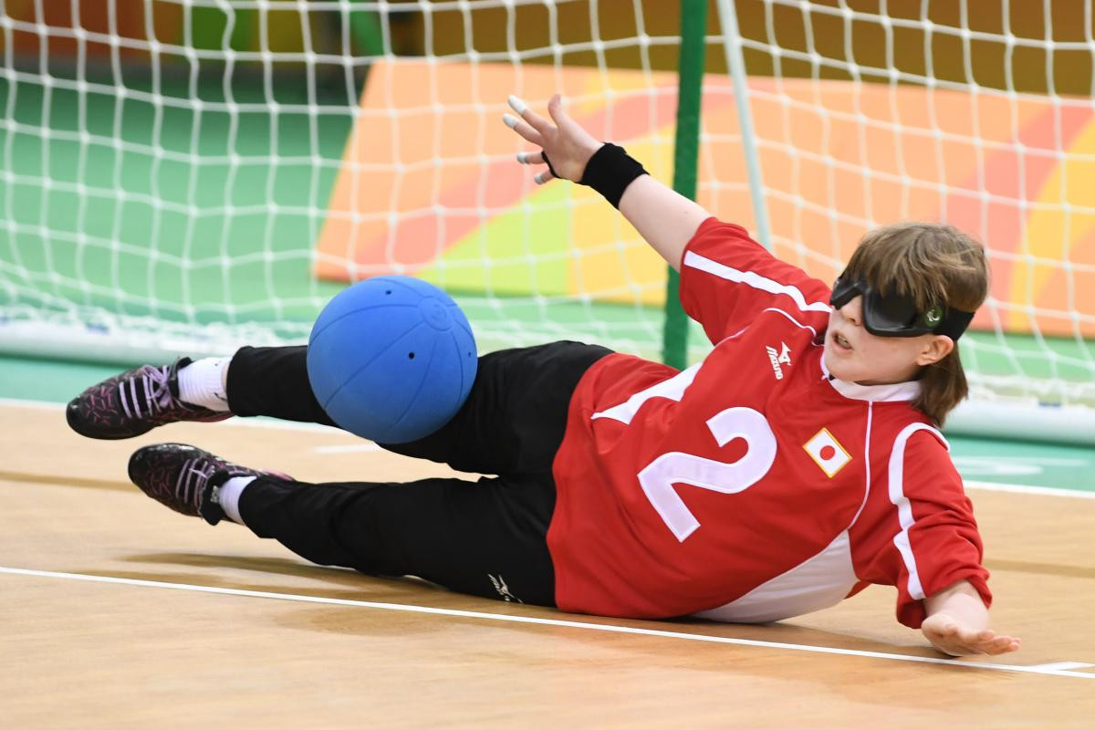 Japanese goalball player focusing on gold in front of home crowd at Tokyo 2020