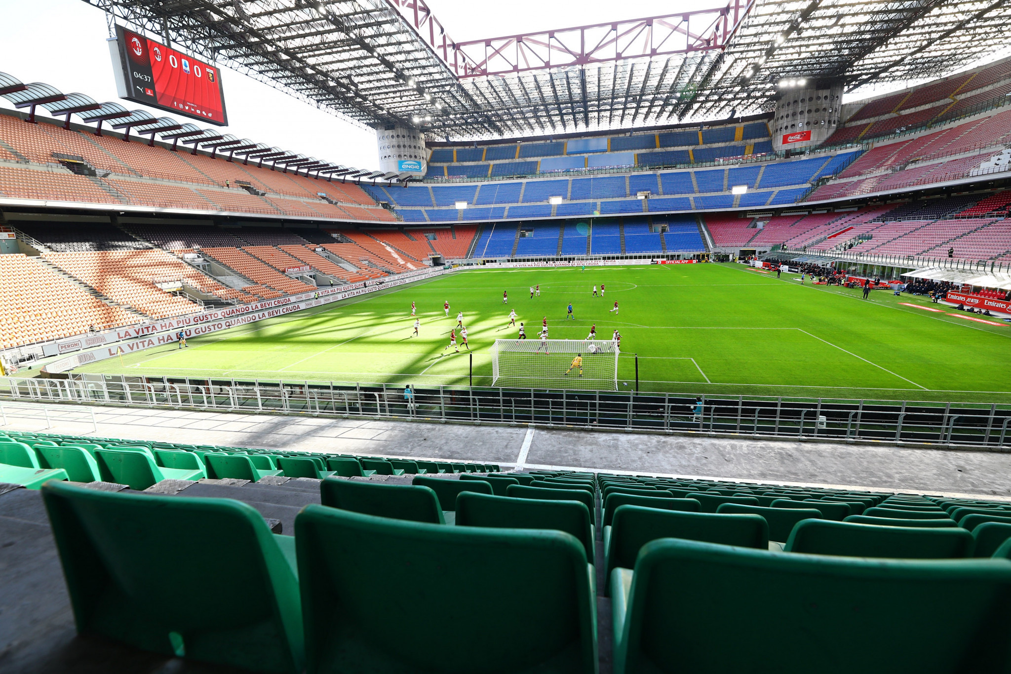 "Green light given to San Siro reconstruction as stadium ruled to have no ""cultural heritage"""