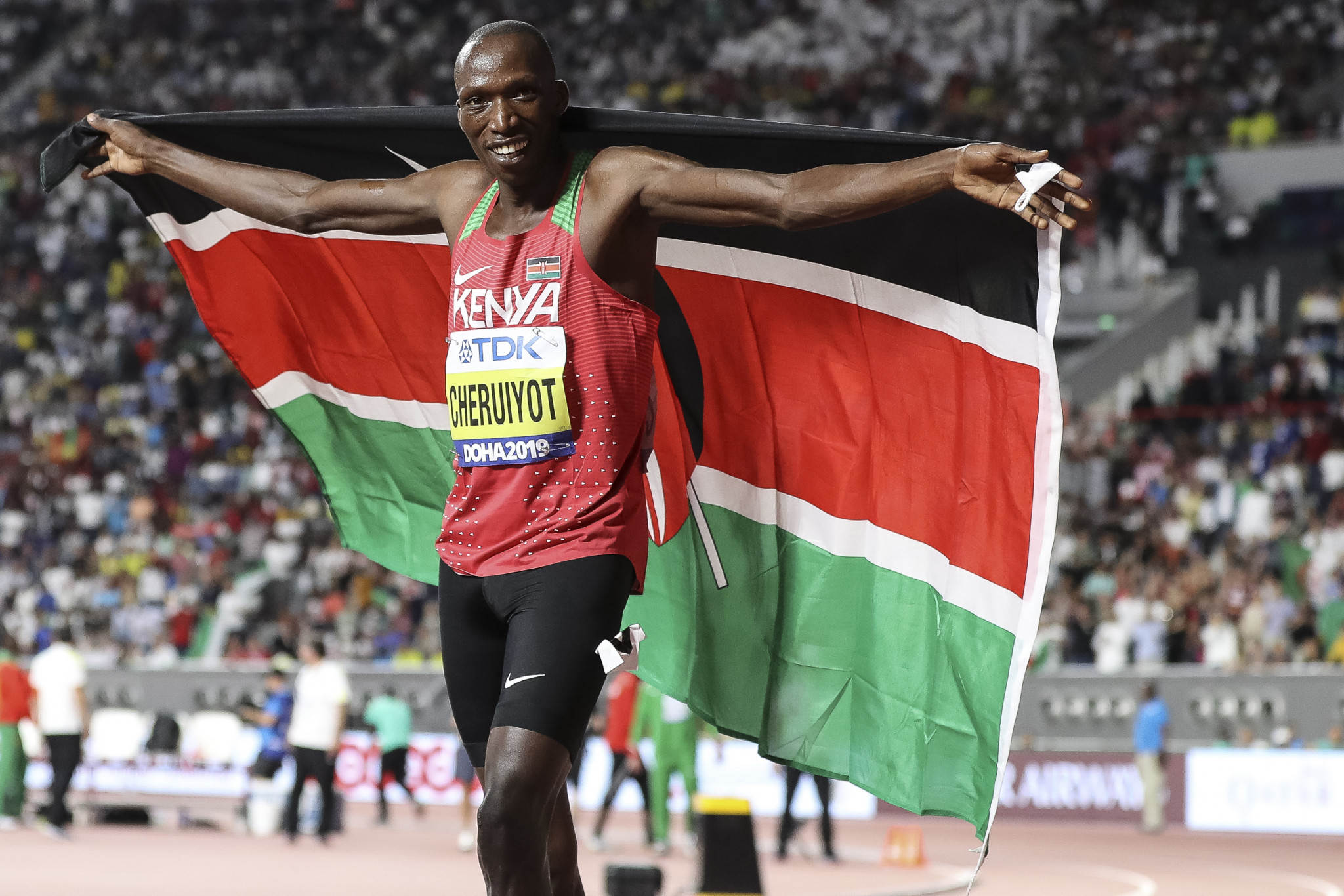 Cheruiyot to compete in virtual 2000m race at Impossible Games