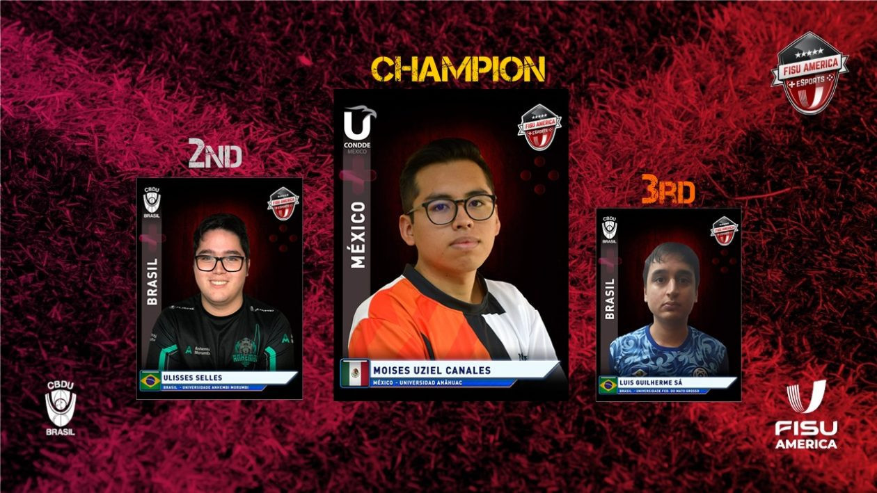 Mexican wins FISU's first-ever international esports competition