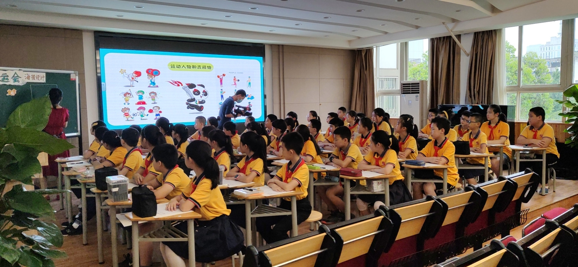 Chengdu 2021 launch painting initiative for children