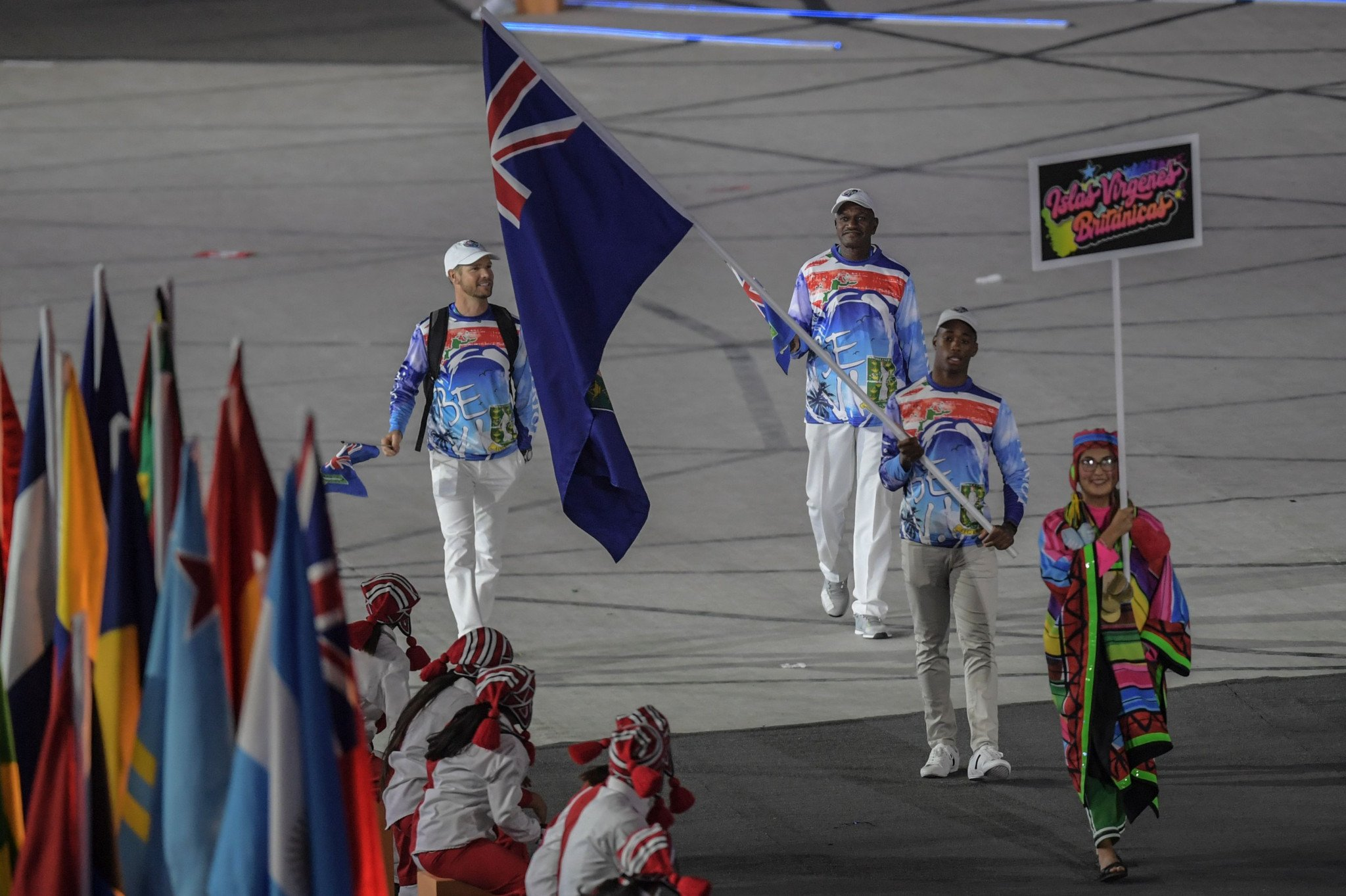 "British Virgin Islands Olympic Committee ""proud"" after being given permission to use territorial song in place of national anthem at IOC events"