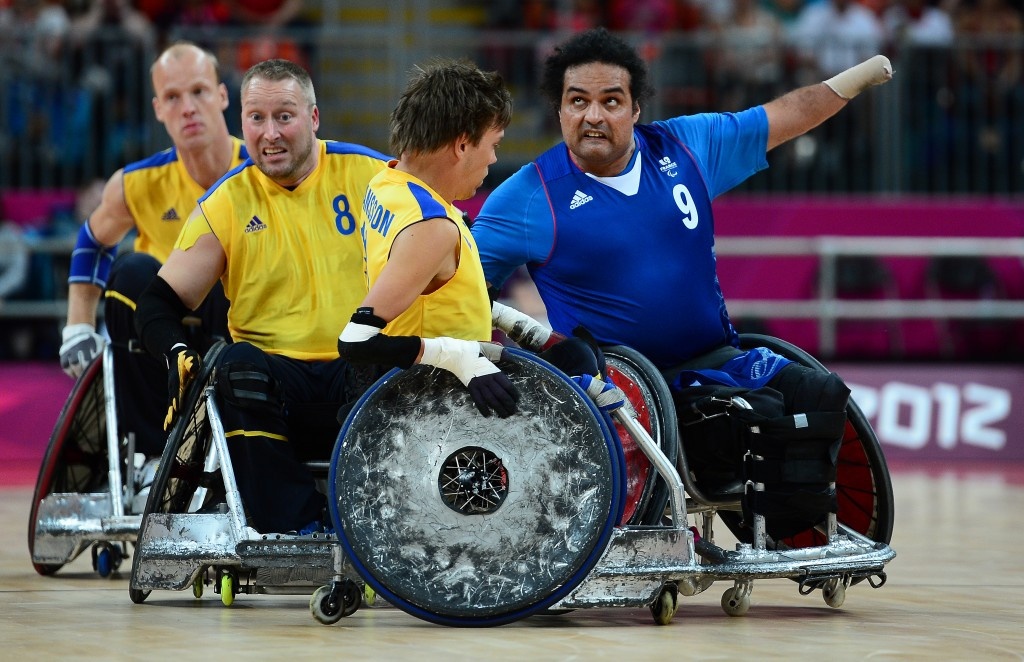 Paris to host wheelchair rugby qualifying tournament for Rio 2016