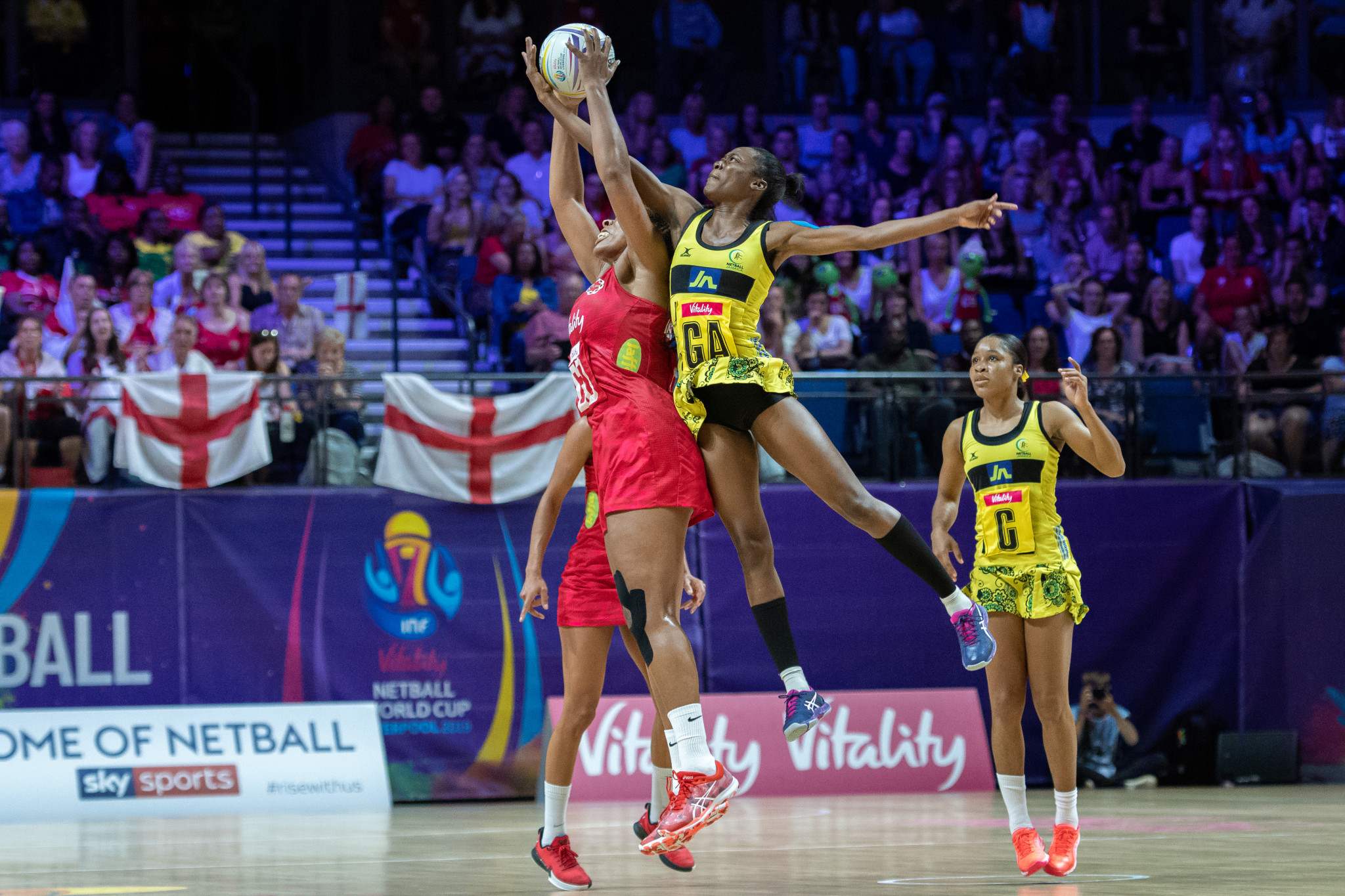 Jamaica moved up to third in the International Netball Federation world rankings ©Getty Images