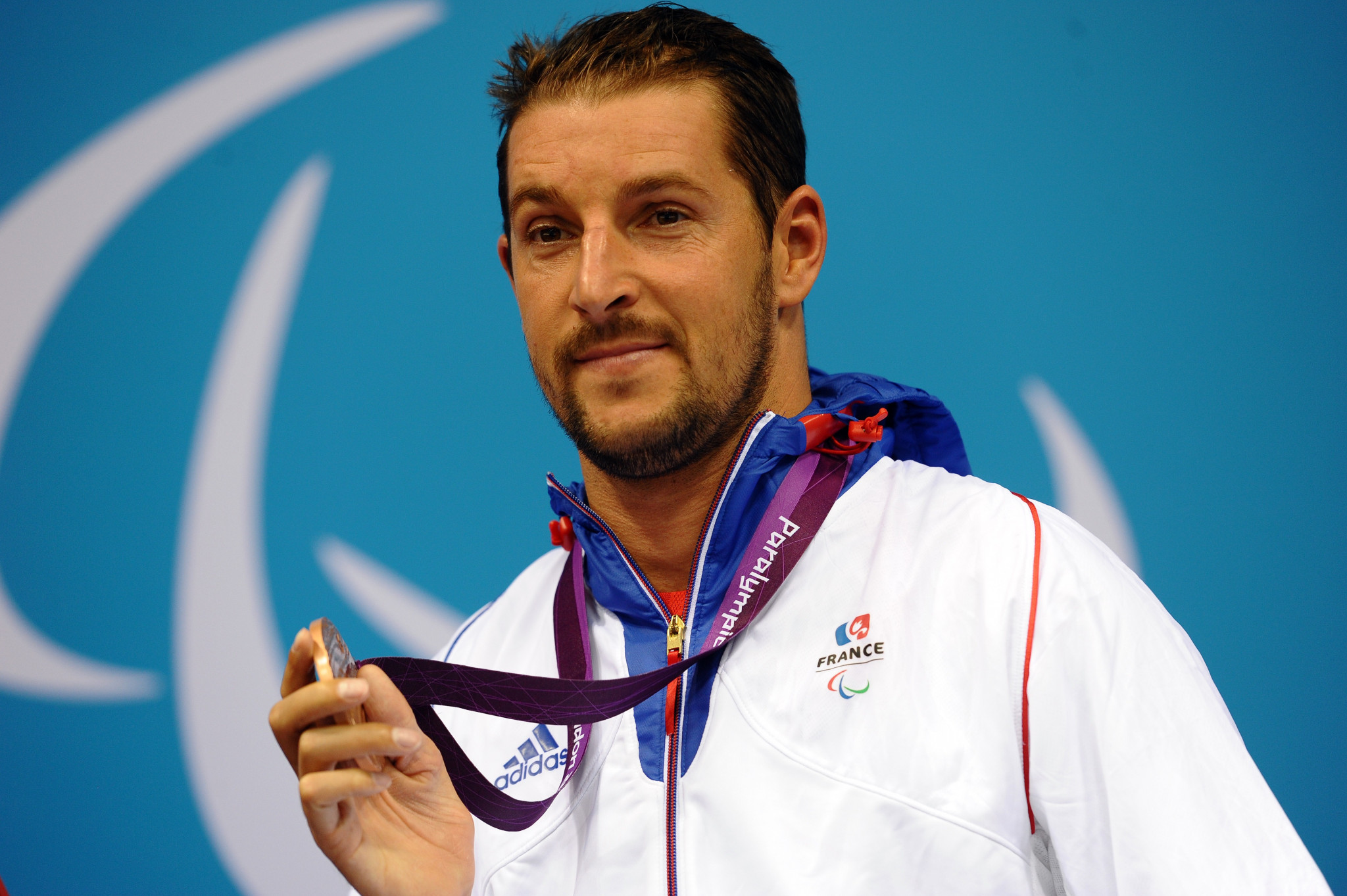 French Paralympic swimming champion from Beijing 2008, David Smétanine, leads the athletes' advisory group  ©Getty Images