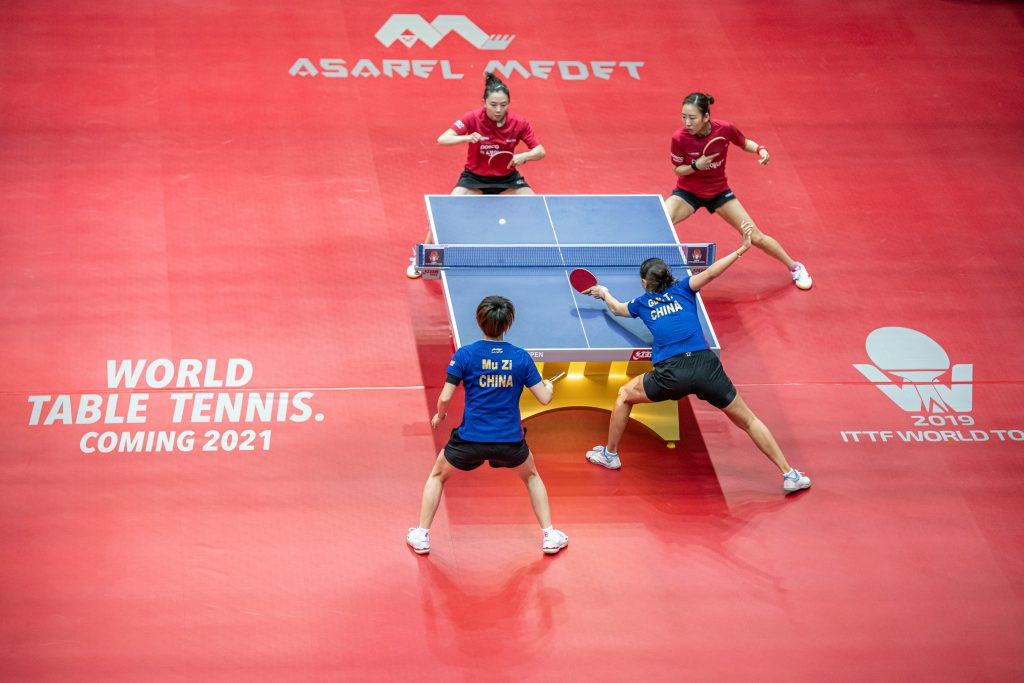 The International Table Tennis Federation held a webinar as part of the World Table Tennis roll out ©Getty Images