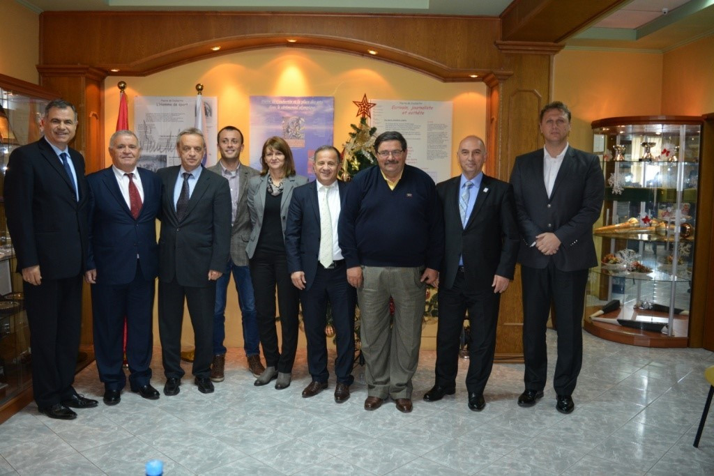 National Olympic Committees from Albania, Kosovo, Macedonia and Montenegro meet to discuss cooperation