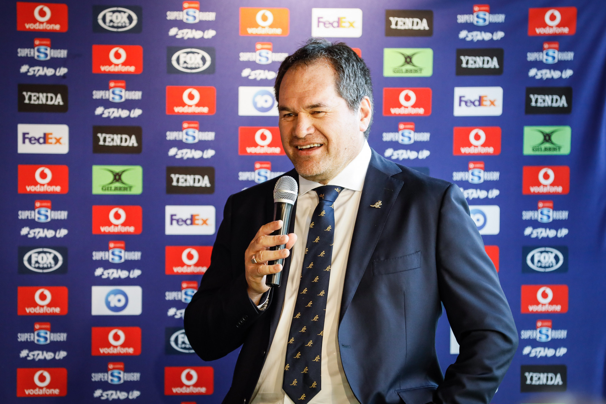 """Incoming coach Dave Rennie described the situation at Rugby Australia as """"messy"""" and called for the infighting to end ©Getty Images"""