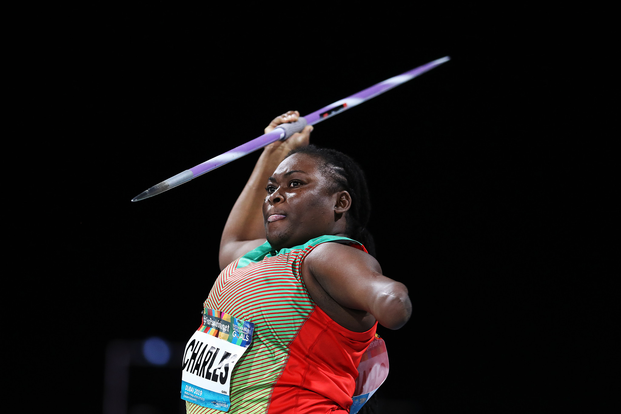 Ishona Charles aims to become Grenada's first Paralympian ©Getty Images