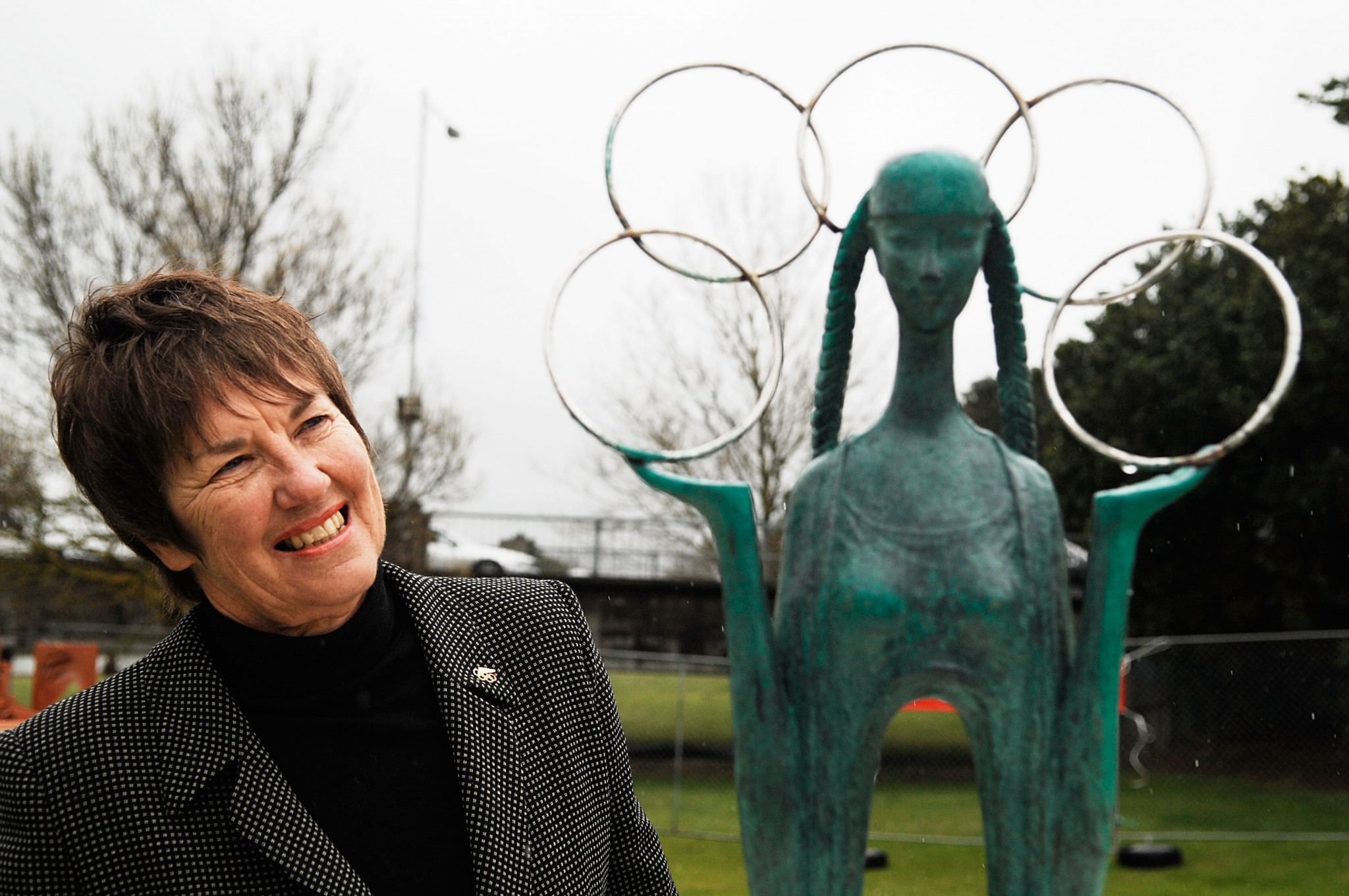 Susie Simcock was World Squash Federation President from 1996 to 2002 ©Getty Images