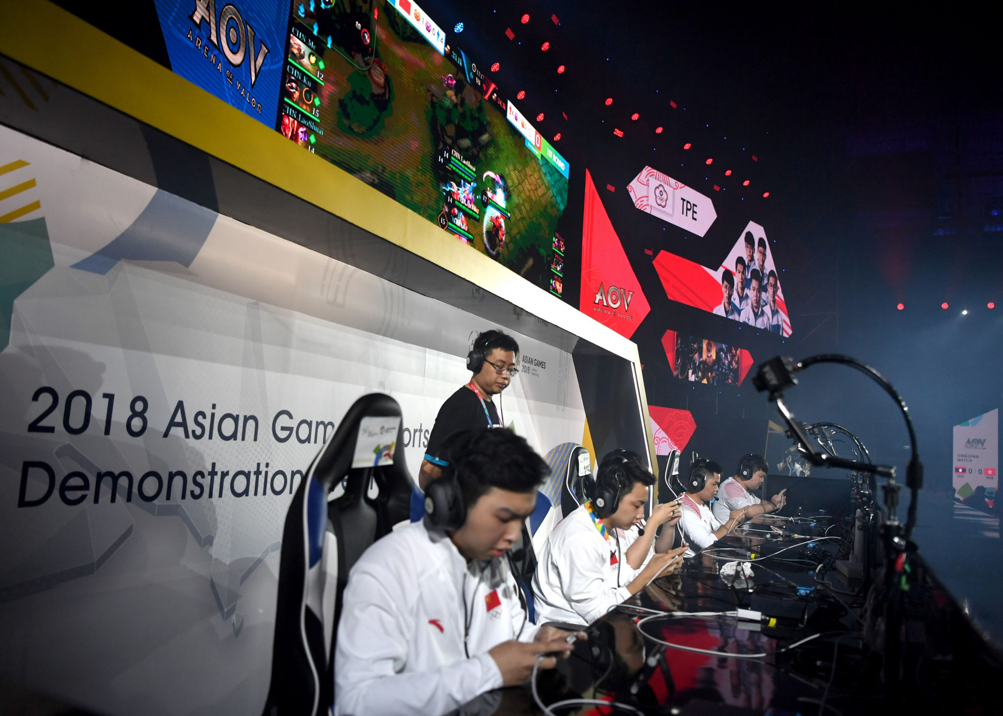 Esports was a demonstration sport at the 2018 Asian Games ©Getty Images