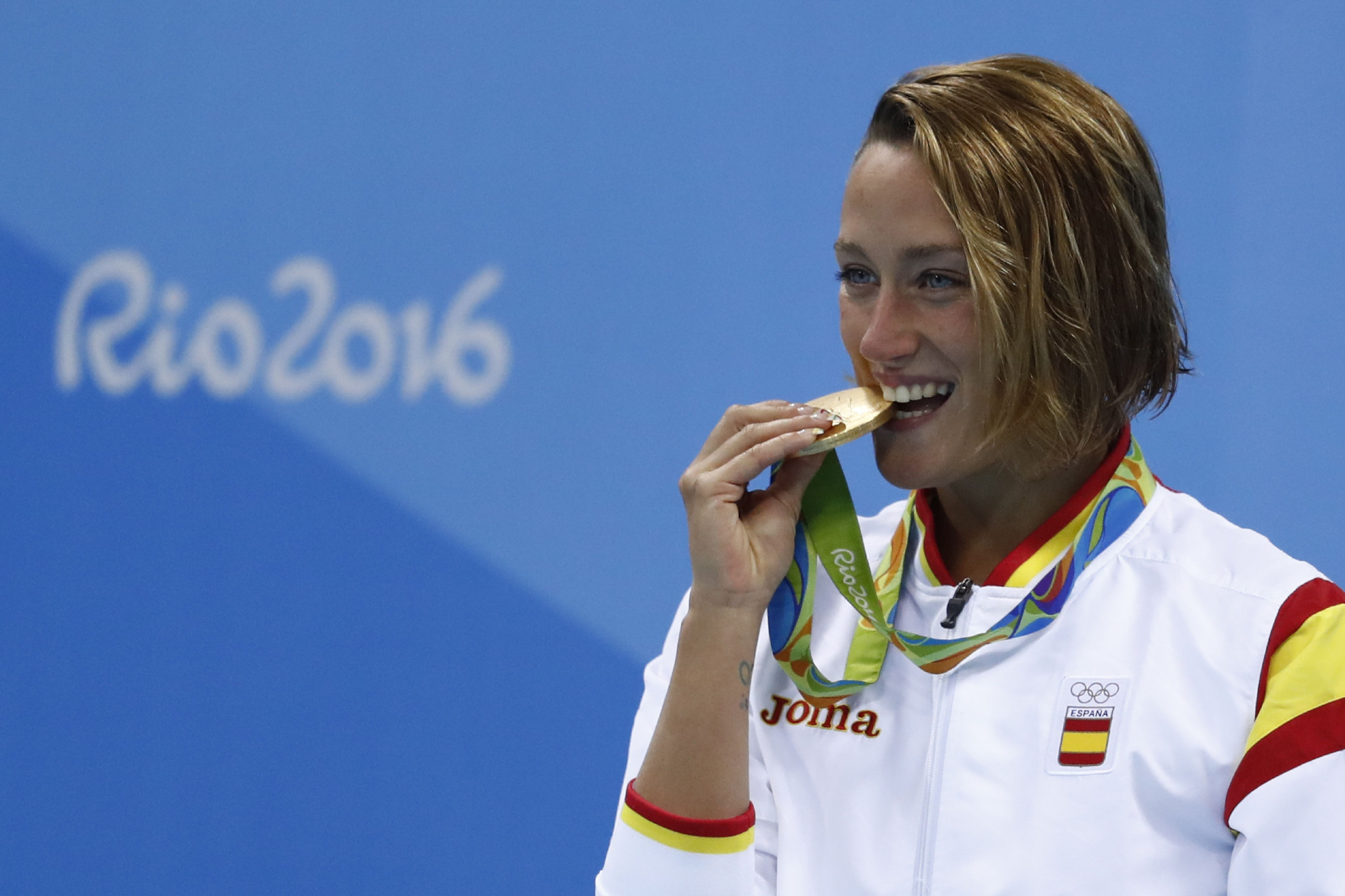 Mireia Belmonte won her first Olympic gold medal at Rio 2016 ©Getty Images