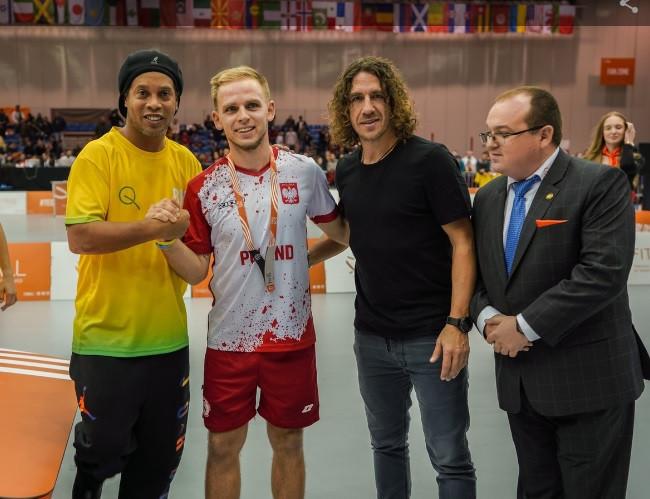 World number one names Lewandowski as ideal teqball ambassador