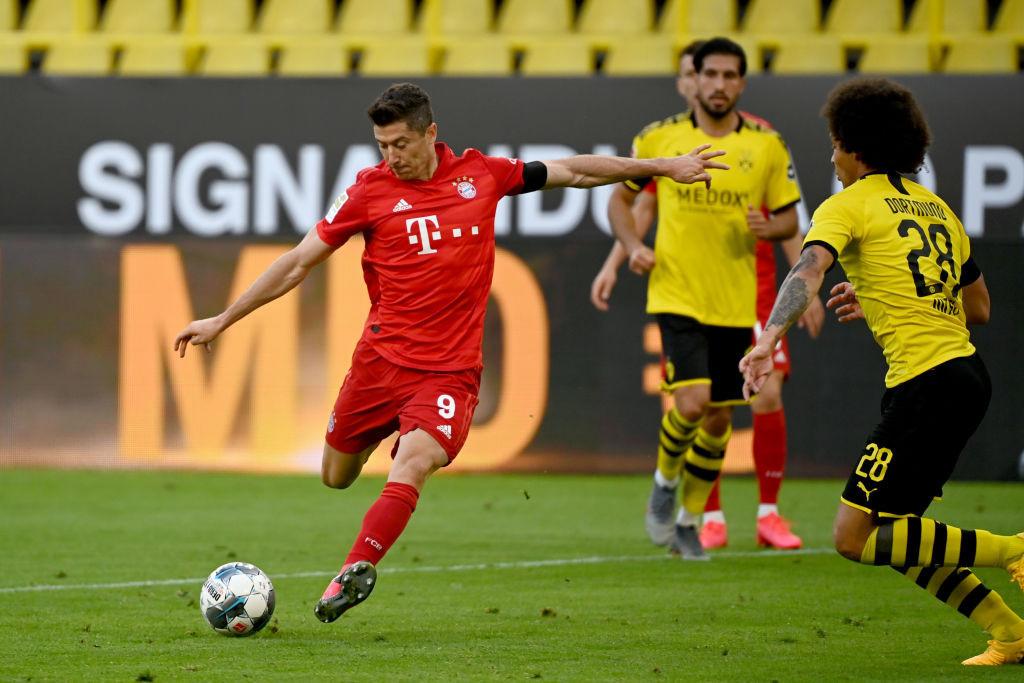 Adrian Duszak of Poland believes Bayern Munich striker Robert Lewandowski would be an ideal ambassador for the sport of teqball ©Getty Images