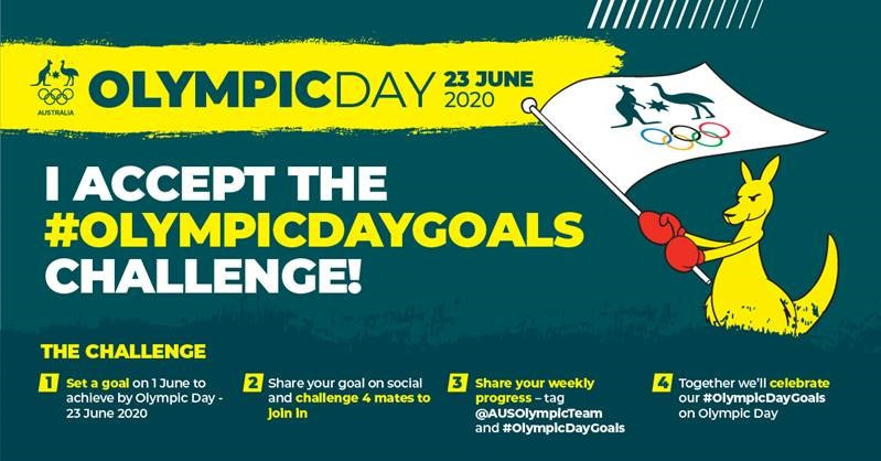 AOC encourages Australians to set personal goals to achieve by Olympic Day