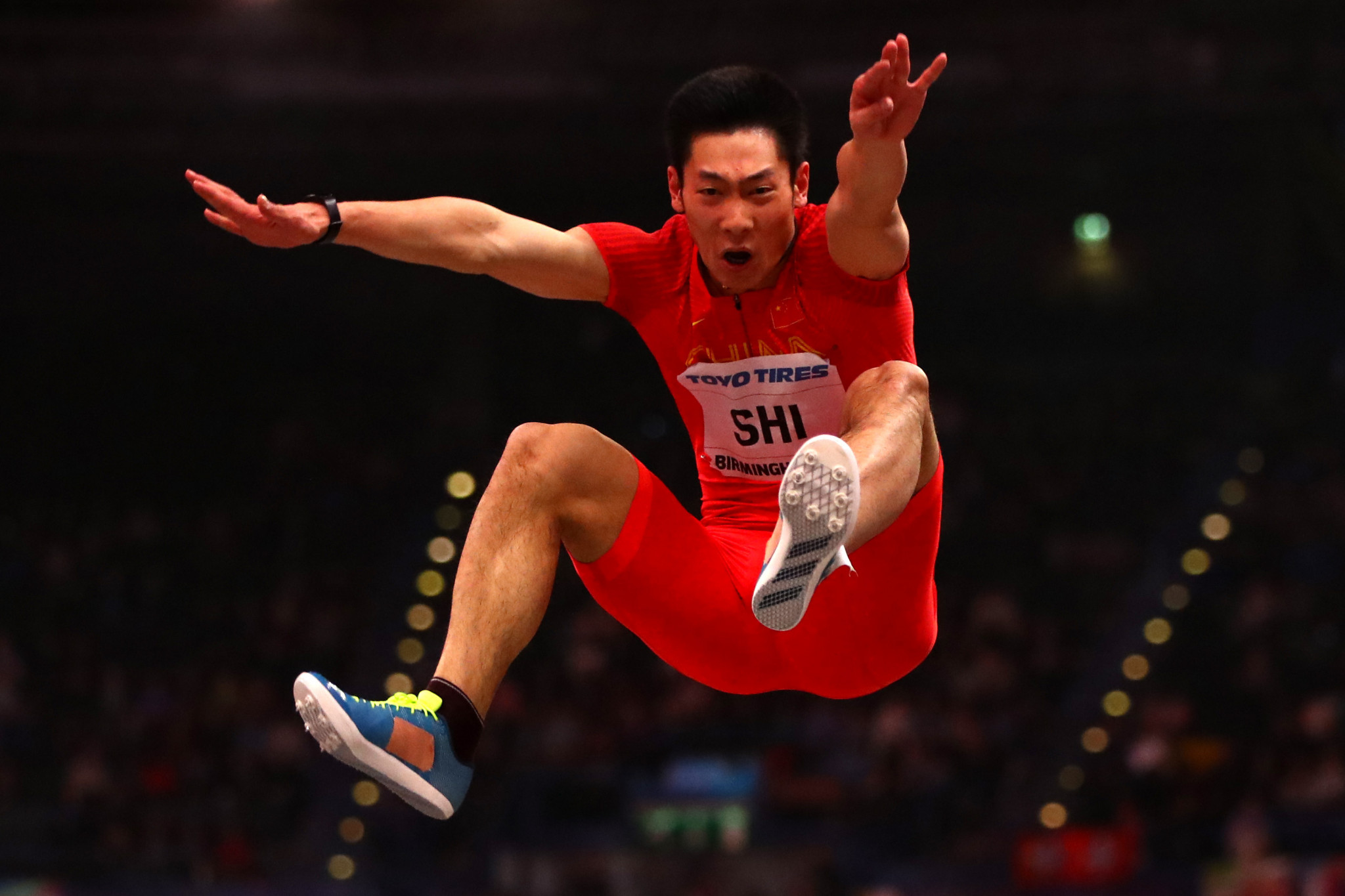 Chinese long jumper Shi takes positives after Tokyo 2020 postponement