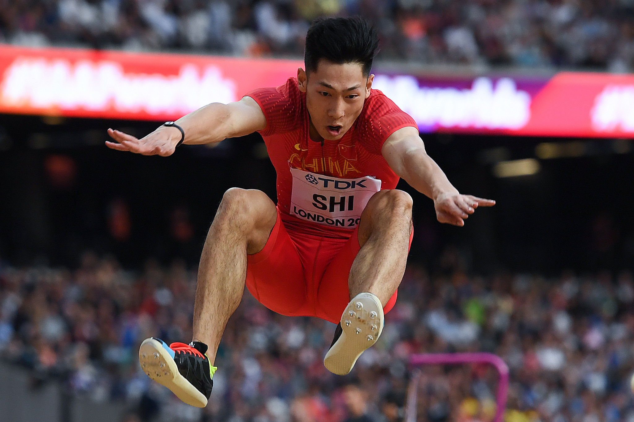 Shi Yuhao finished sixth at the World Championships in London in 2017 ©Getty Images
