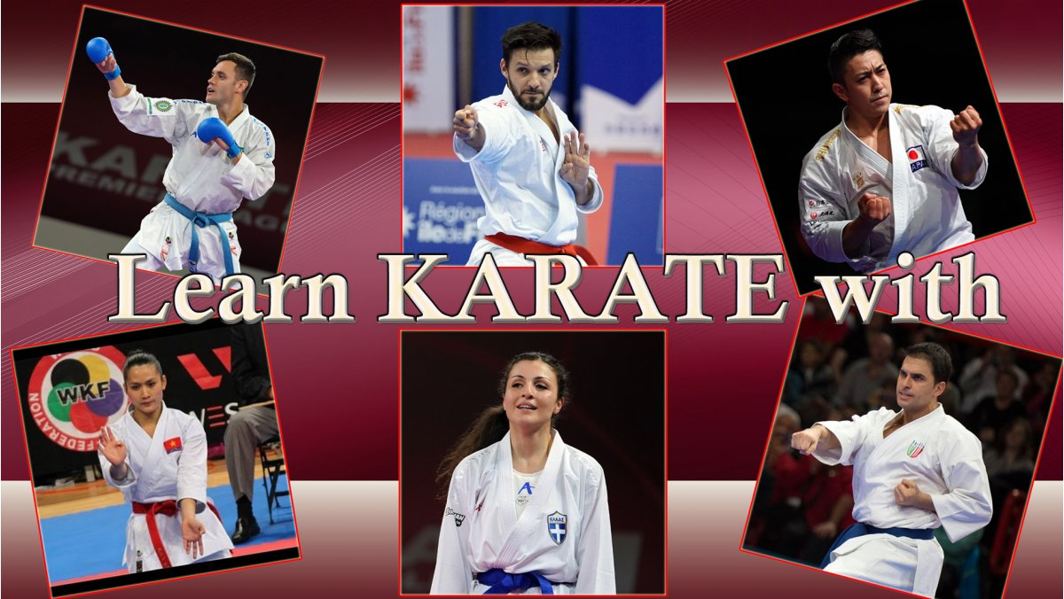 "Top athletes to lead ""Learn Karate with"" online sessions"