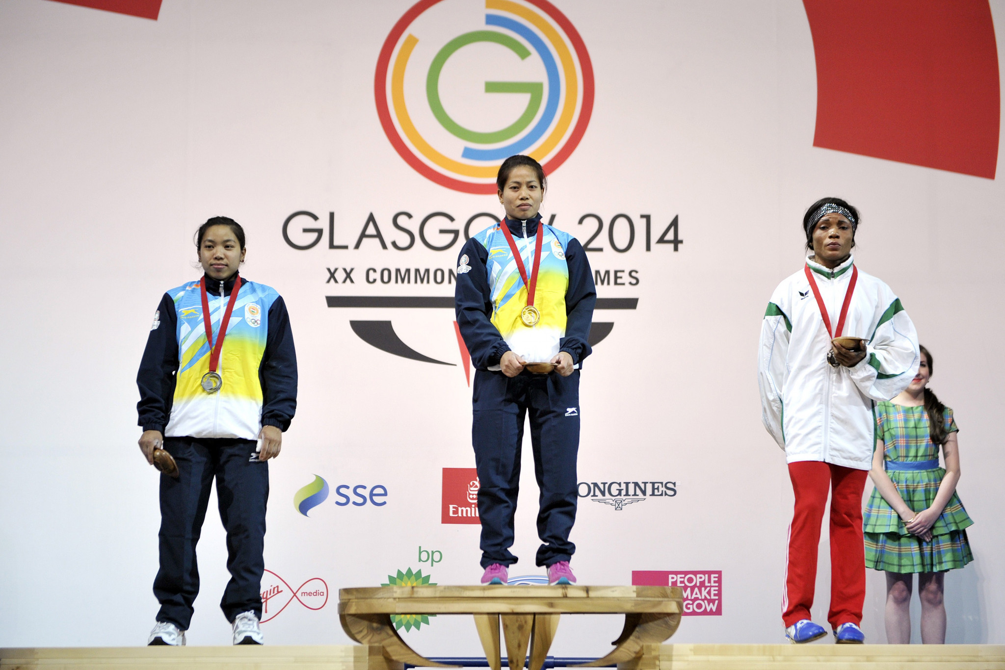 Sanjita Chanu Khumukcham is a two-time Commonwealth Games champion ©Getty Images