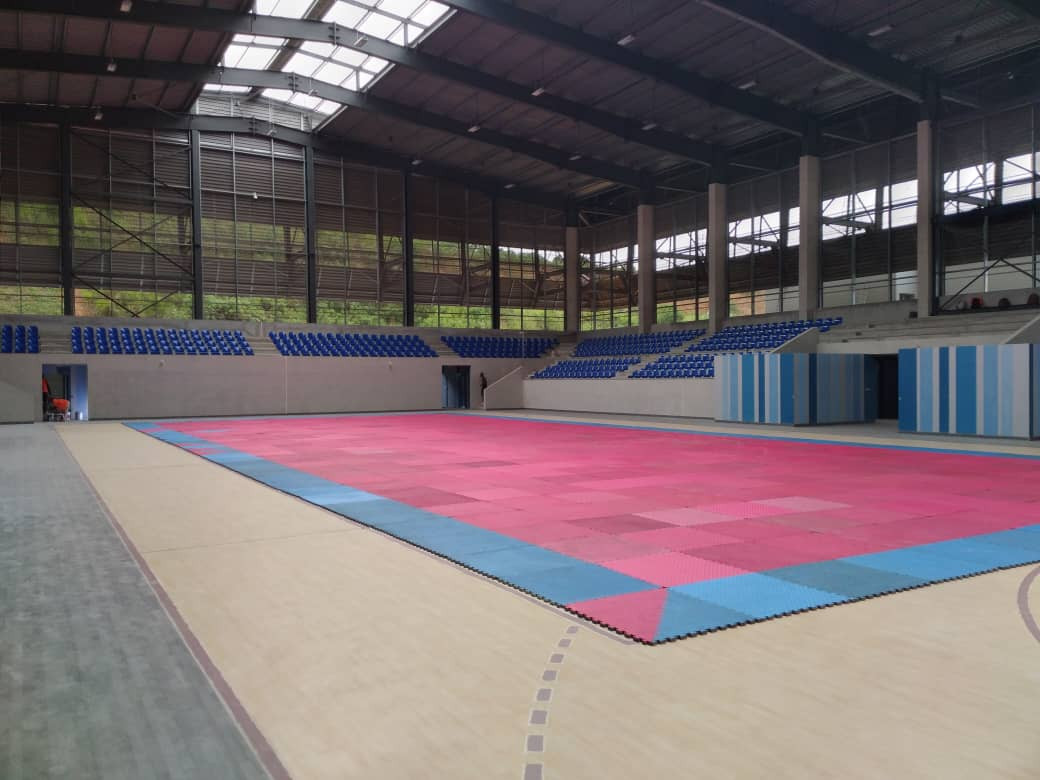 The facility will include a 1,500-seat competition hall ©FITKD