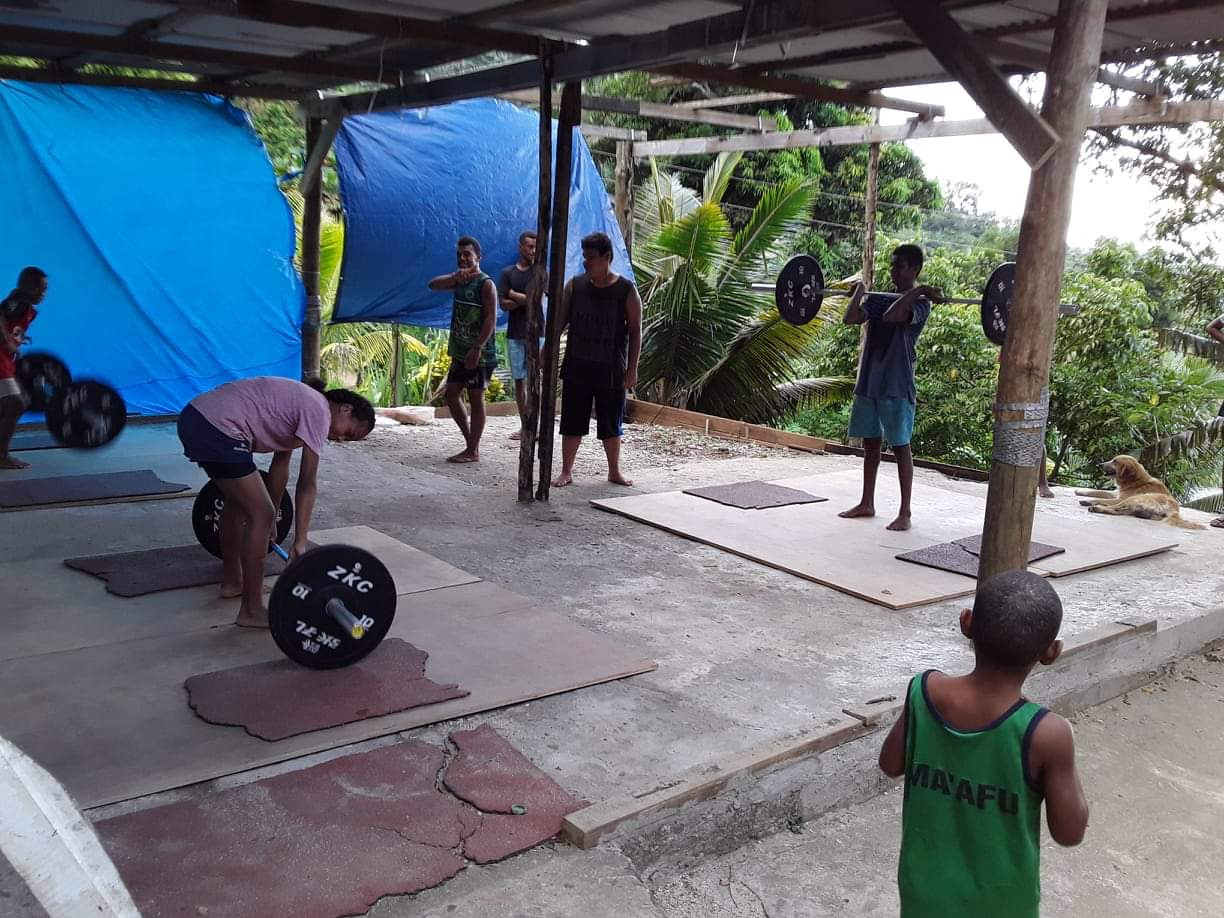 Weightlifting Fiji announced its support for a new gym in Levuka ©WF