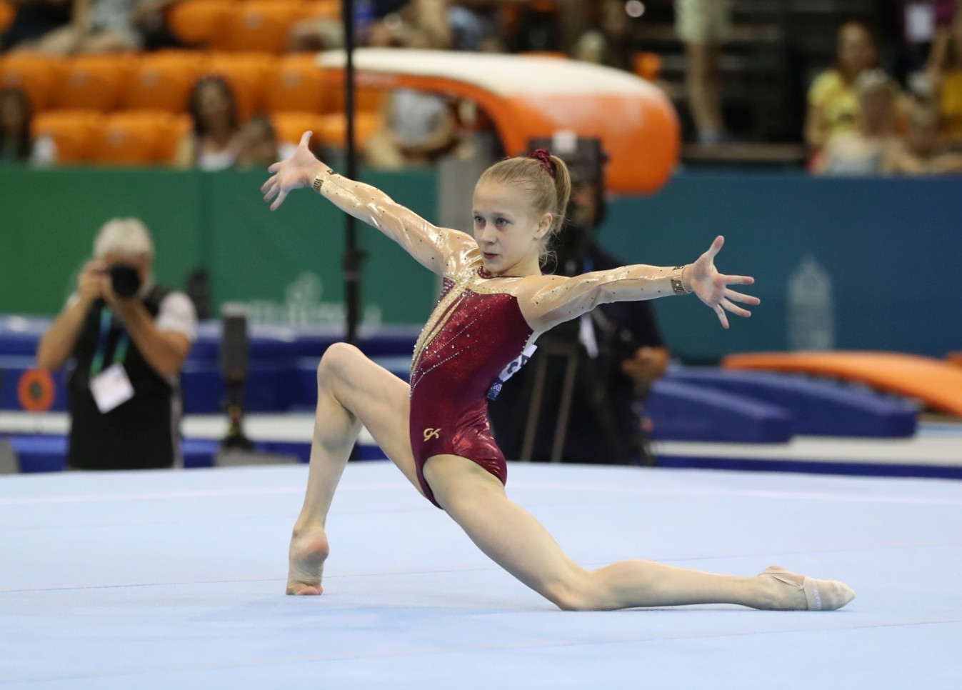 World junior gymnastics champion Listunova hopeful of competing at first Olympics in Tokyo after age limit lowered