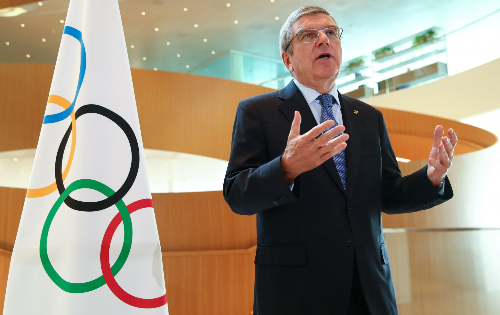 Paris 2024 organisers said today their altered approach was partly influenced by earlier comments from IOC President Thomas Bach ©Getty Images