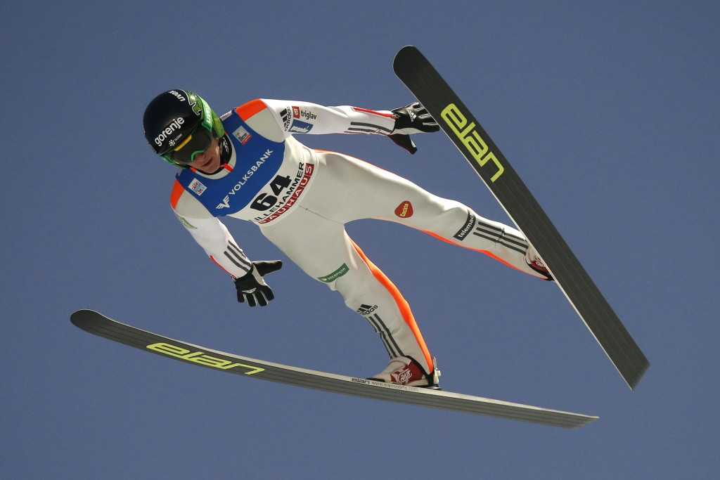 One-two finish for Slovenian brothers at FIS Ski Jumping World Cup in Engelberg