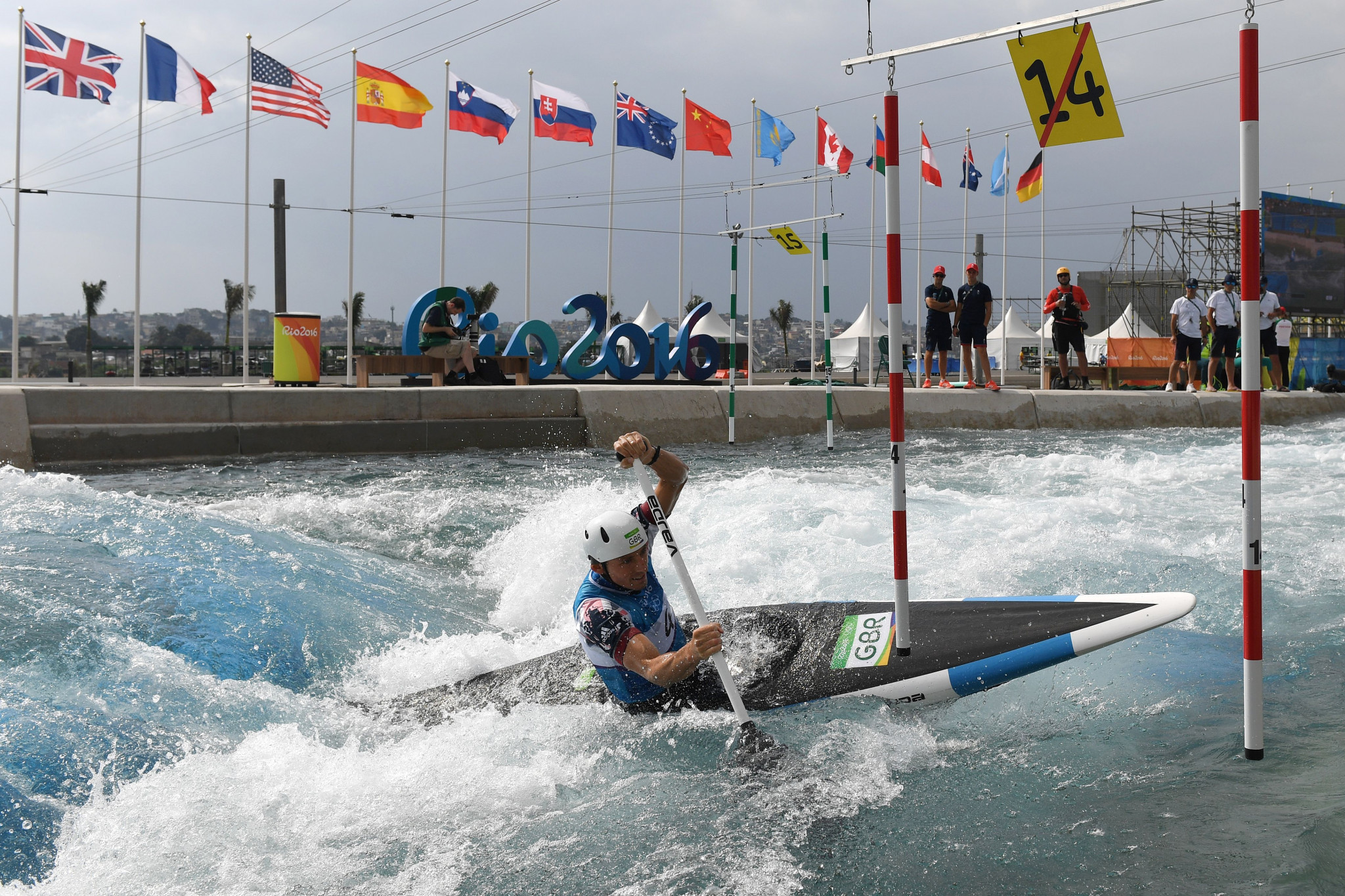 More than half of canoeists hope to return to competition this year ©Getty Images
