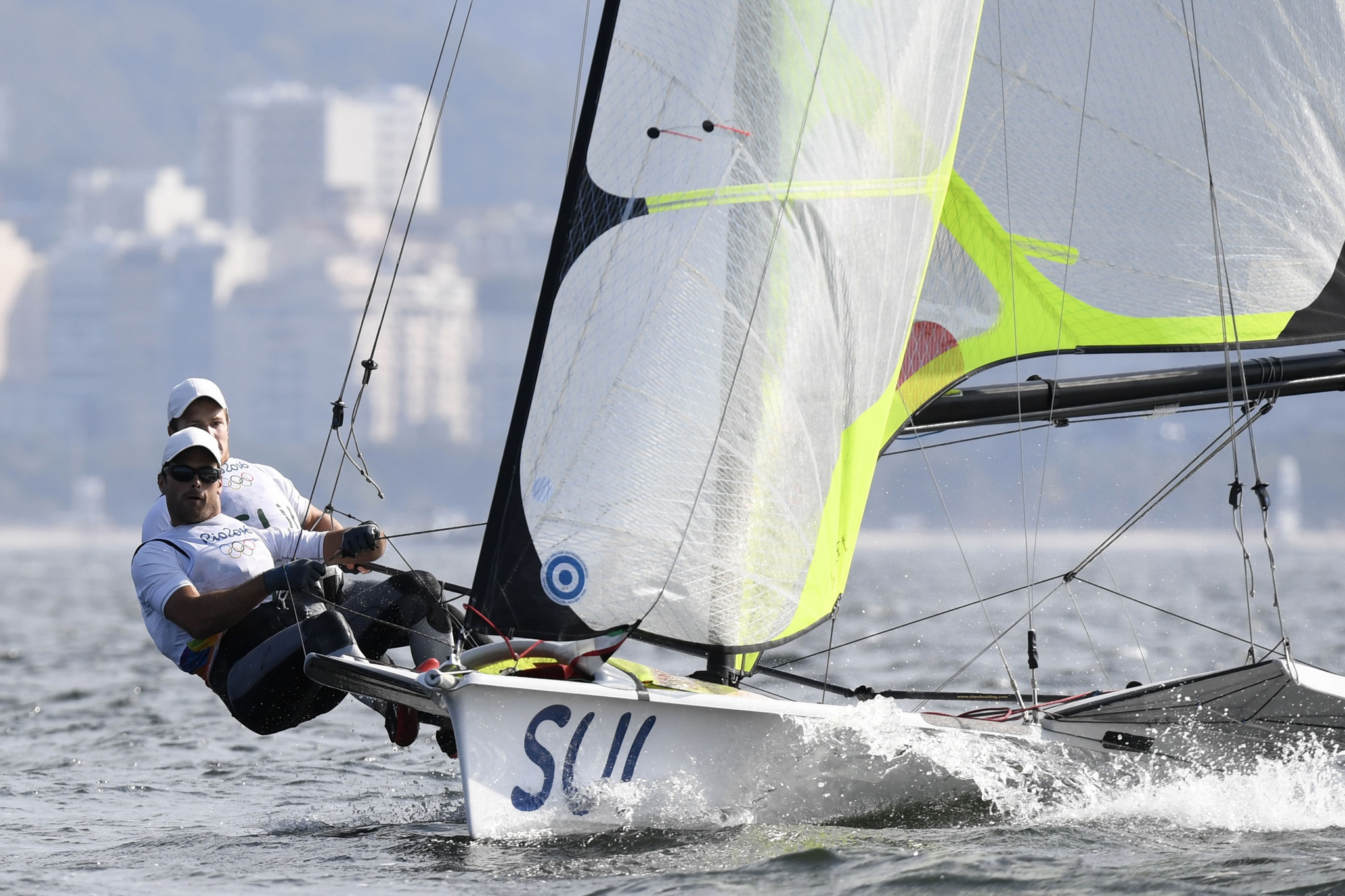 Sailors and windsurfer named to Swiss team for Tokyo 2020