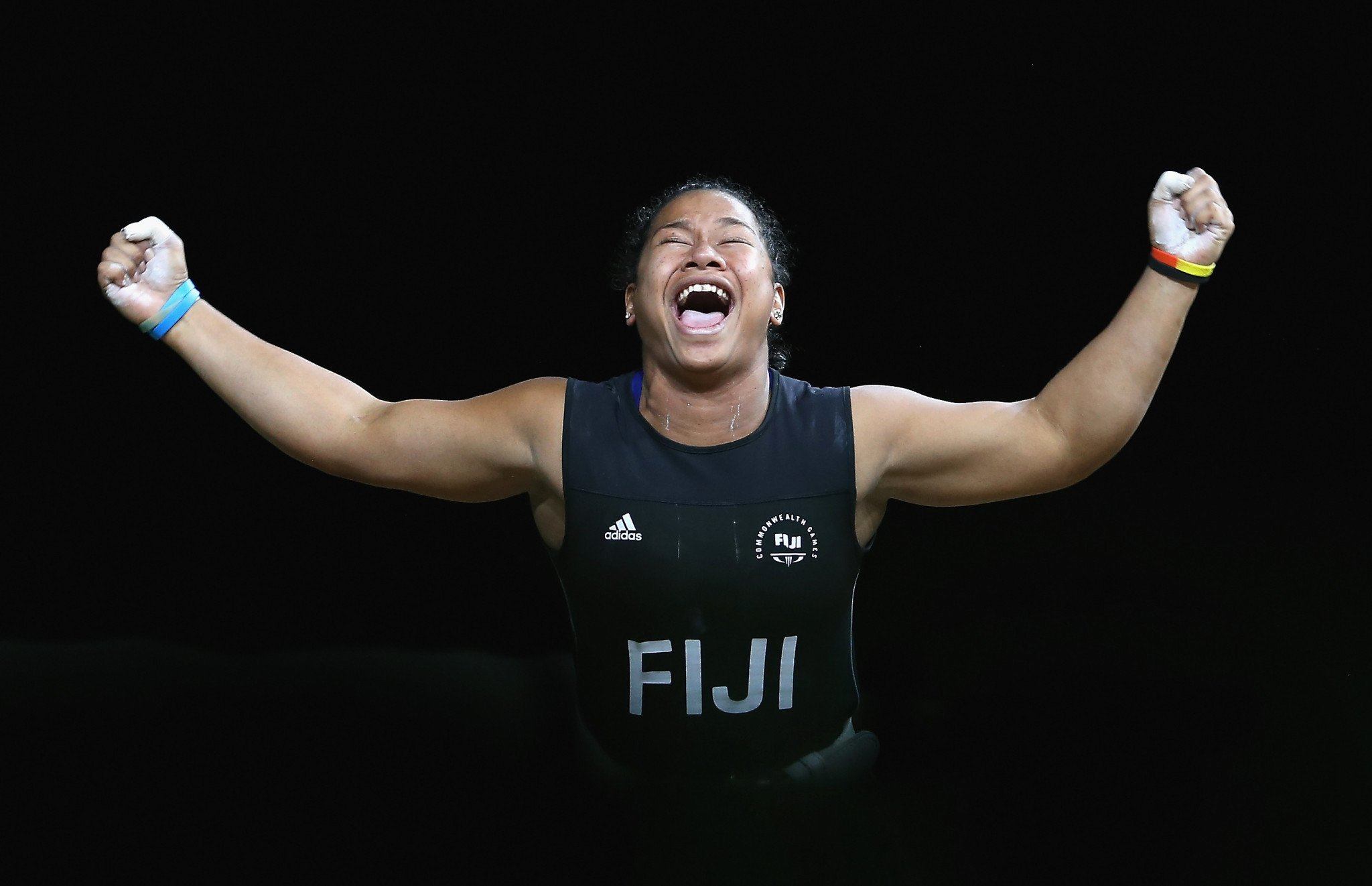 The success of Fiji's Eileen Cikamatana has been one of the good news stories during five turbulent months for the sport ©Getty Images