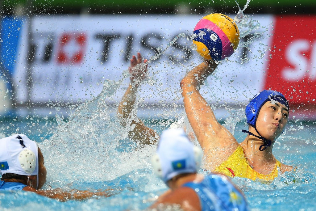 China secured their place in the Rio 2016 women's water polo tournament ©Getty Images