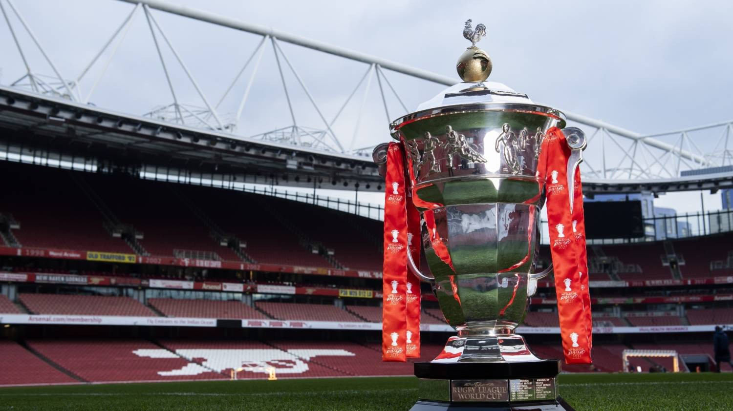 The Rugby League World Cup 2021 is set to take place in England next October and November ©RLWC2021