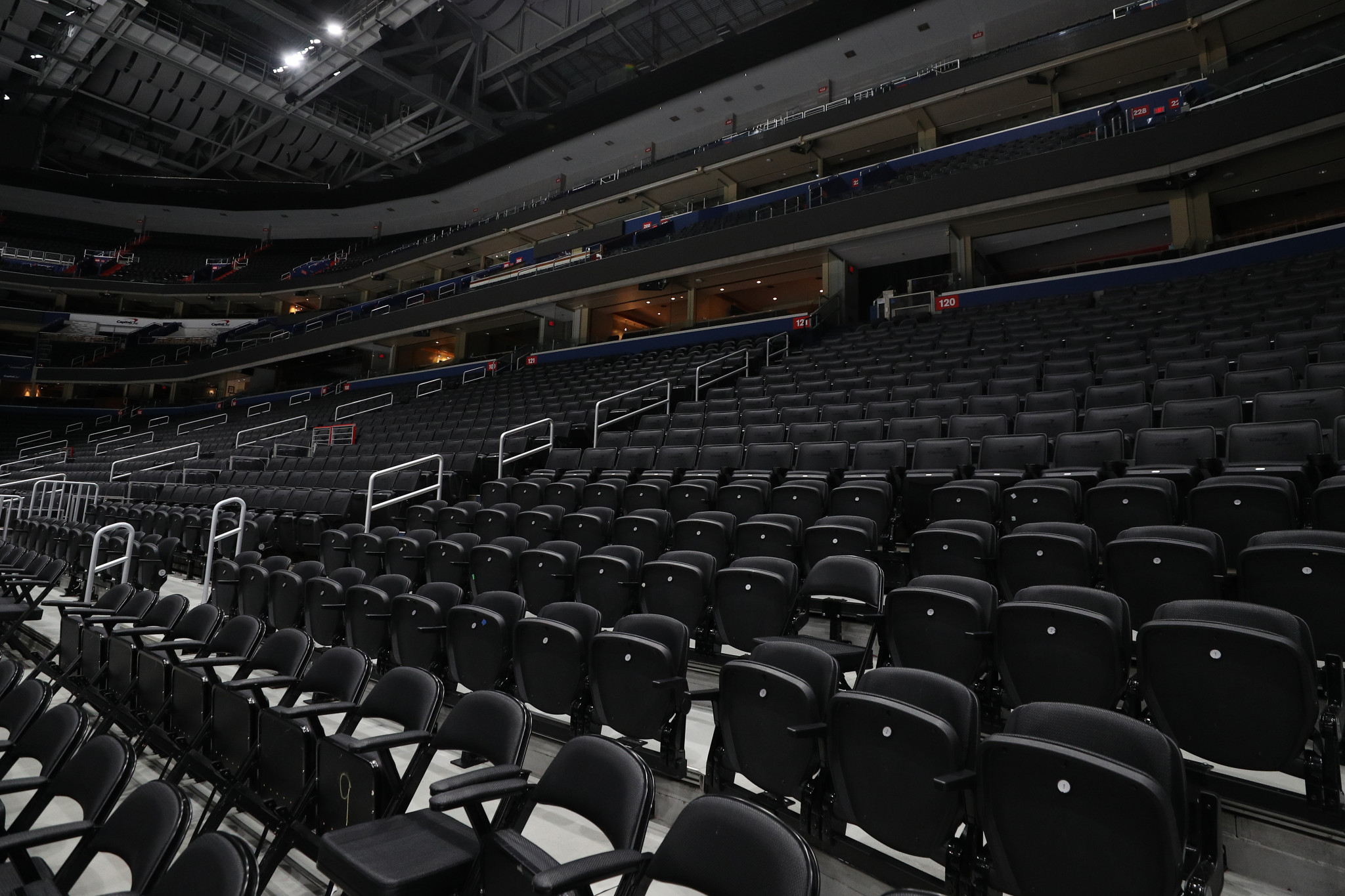 There will be no spectators present when the NBA action returns ©Getty Images