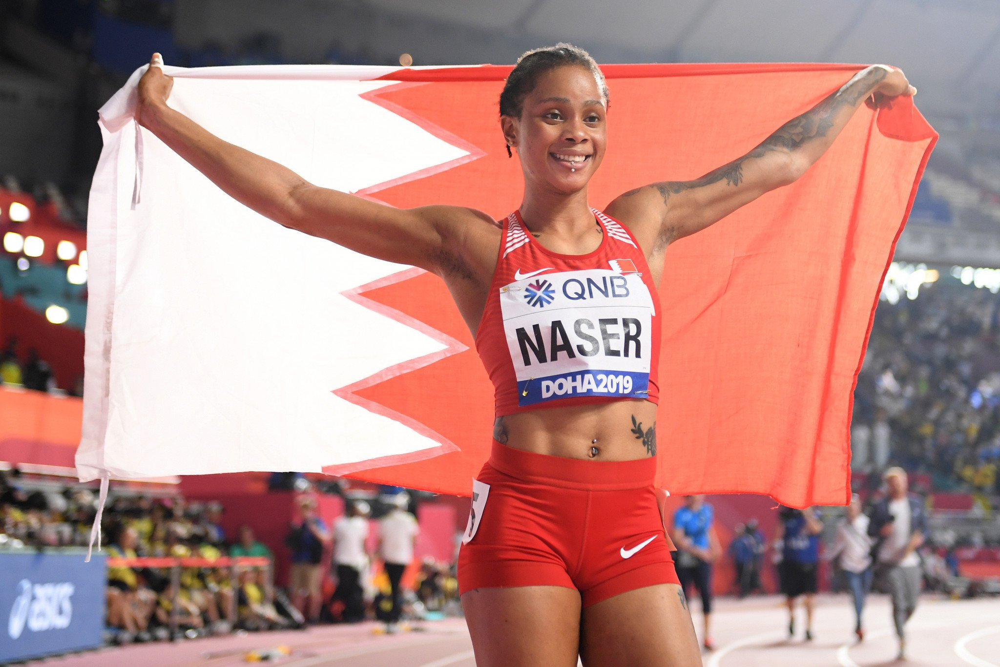 """I've never been a cheat"" says Naser in video following provisional ban for whereabouts failures"