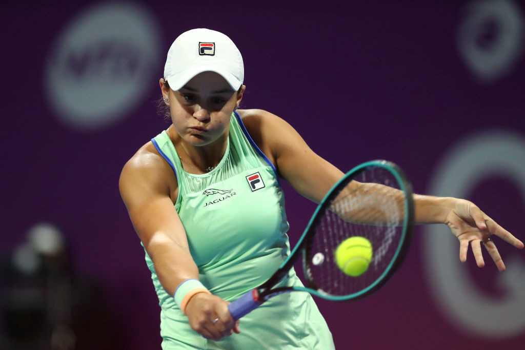 Women's world number one Ashleigh Barty has also expressed doubts over travelling to the US ©Getty Images
