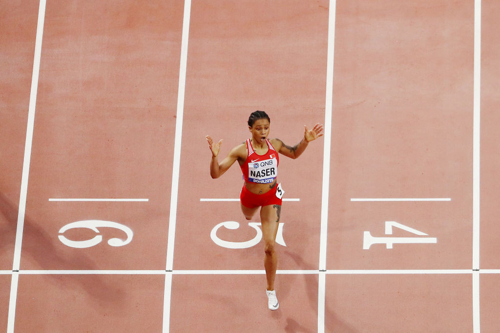 AIU confirms Naser was being investigated when she won world 400m title