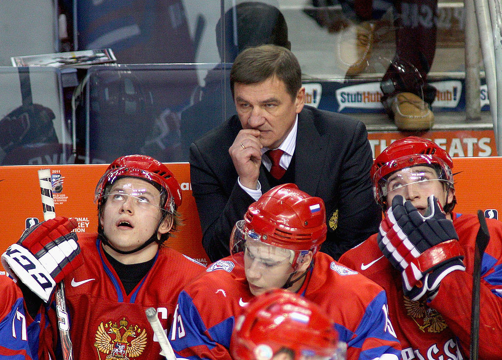 Valeri Bragin is the new head coach of the men's Russian ice hockey team ©Getty Images
