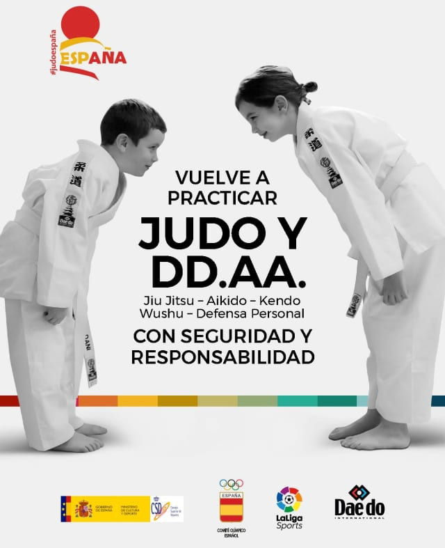 Spanish Judo Federation launch programme to keep youngsters active