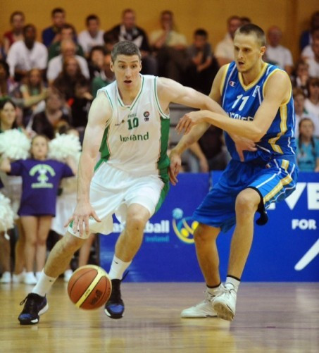 Ireland's men's basketball team to re-enter European competition in 2016