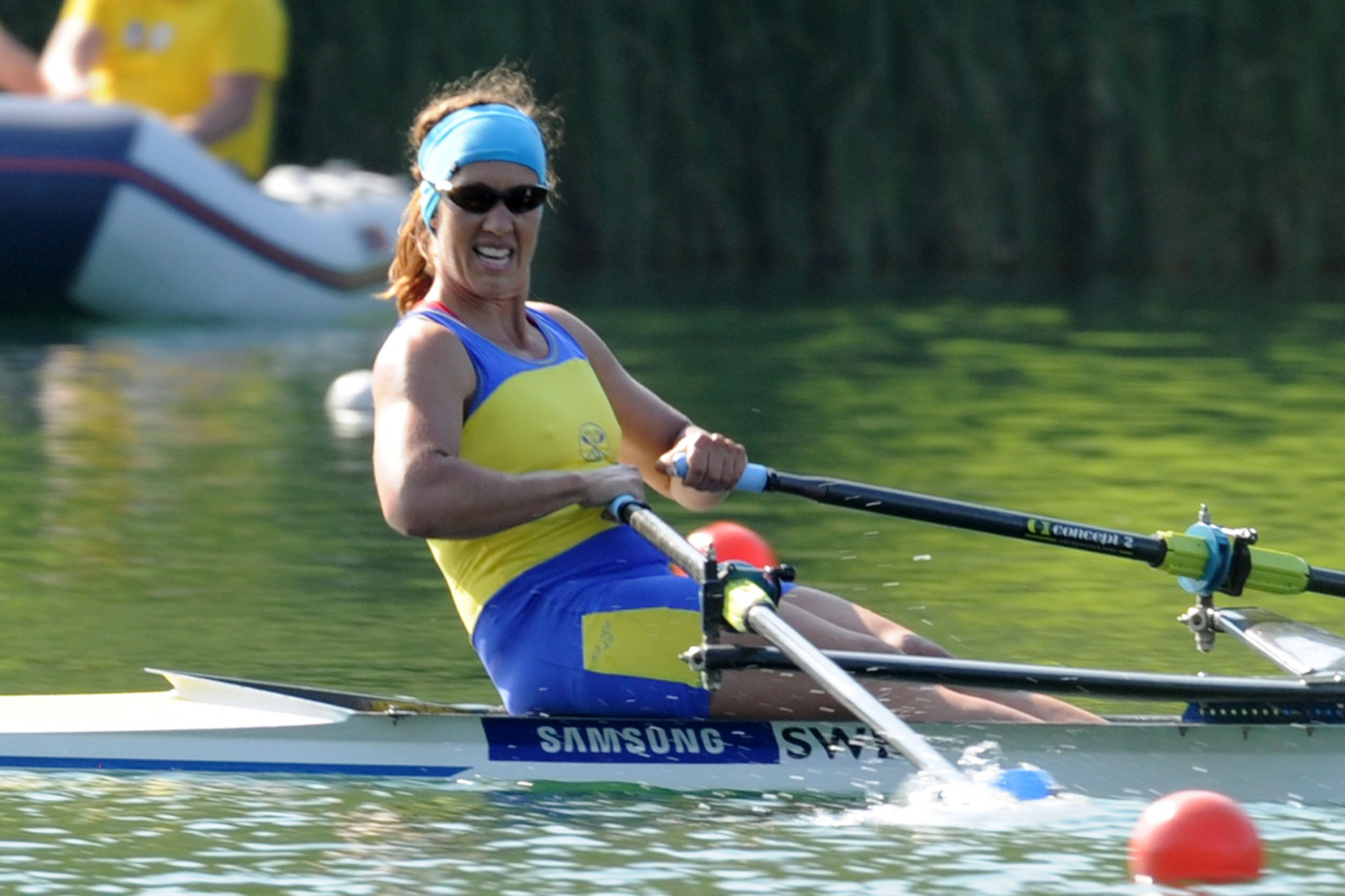 Frida Svensson of Sweden is chair of the World Rowing Athletes' Commission ©Getty Images