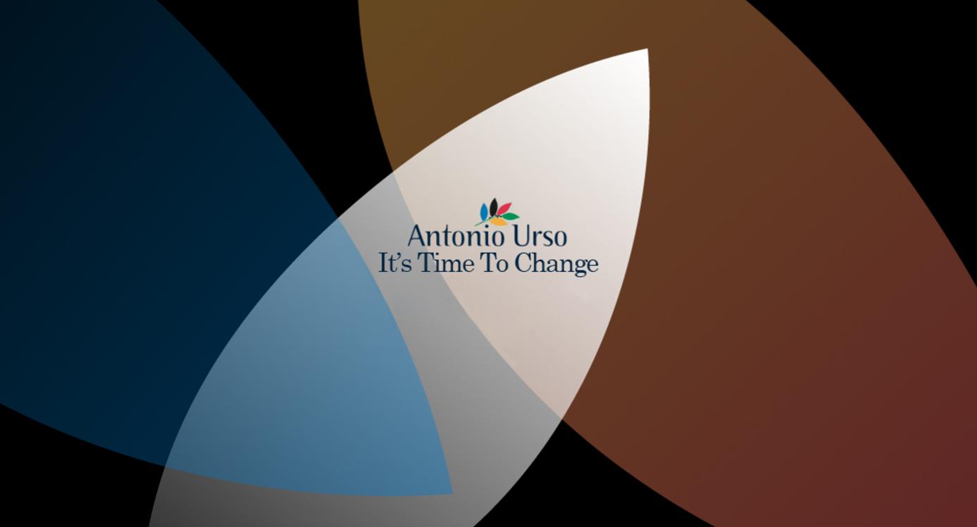 Antonio Urso's slogan for the 2017 Presidential race ©Antonio Urso