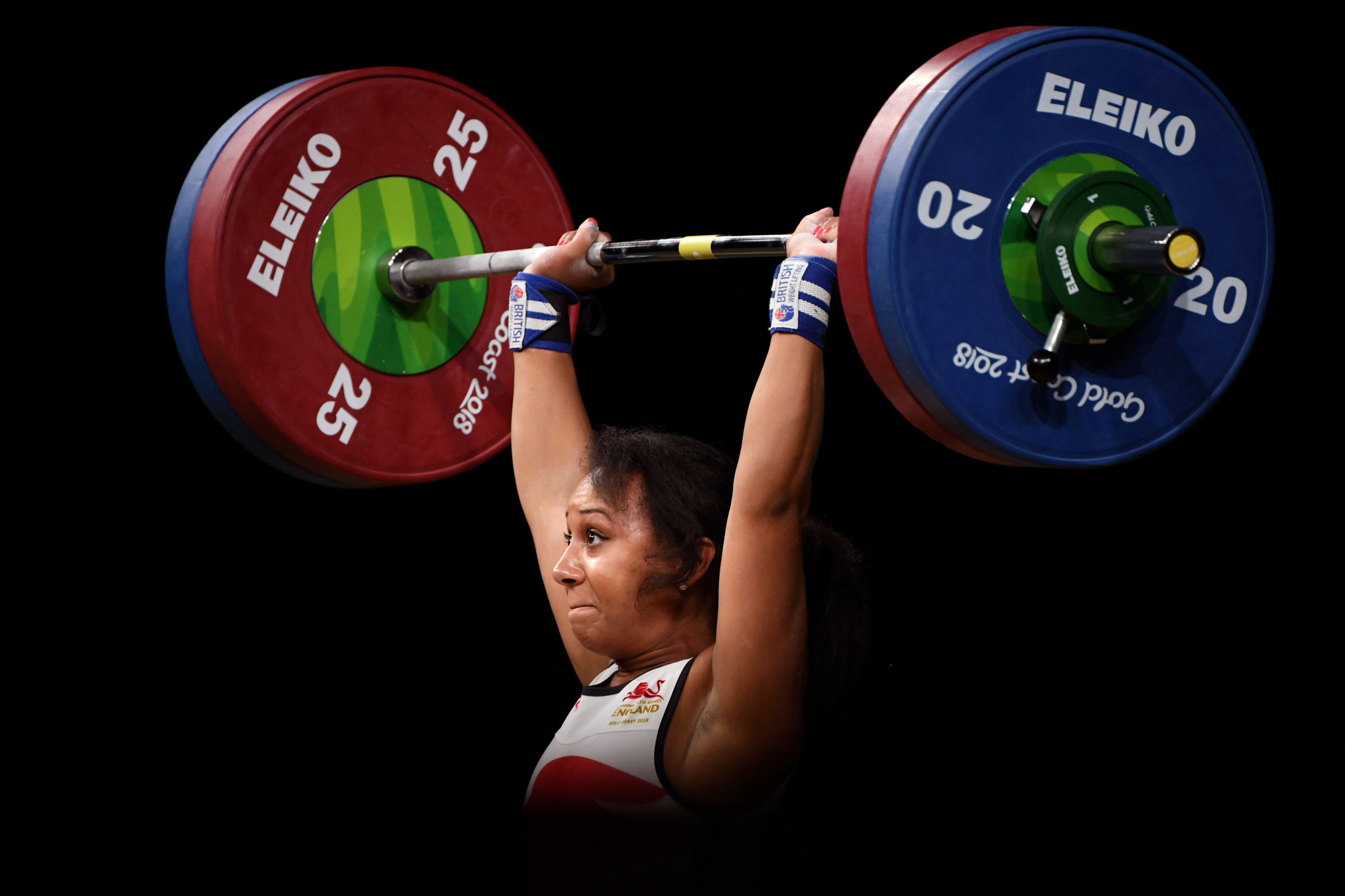 Britain's Zoe Smith won a European bronze medal last year, and Urso says more countries appearing on weightlifting podiums would be a positive thing for the sport ©Getty Images
