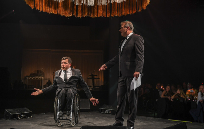 The Infinite Possibilities Gala was recognised for its achievements ©Paralympics Australia