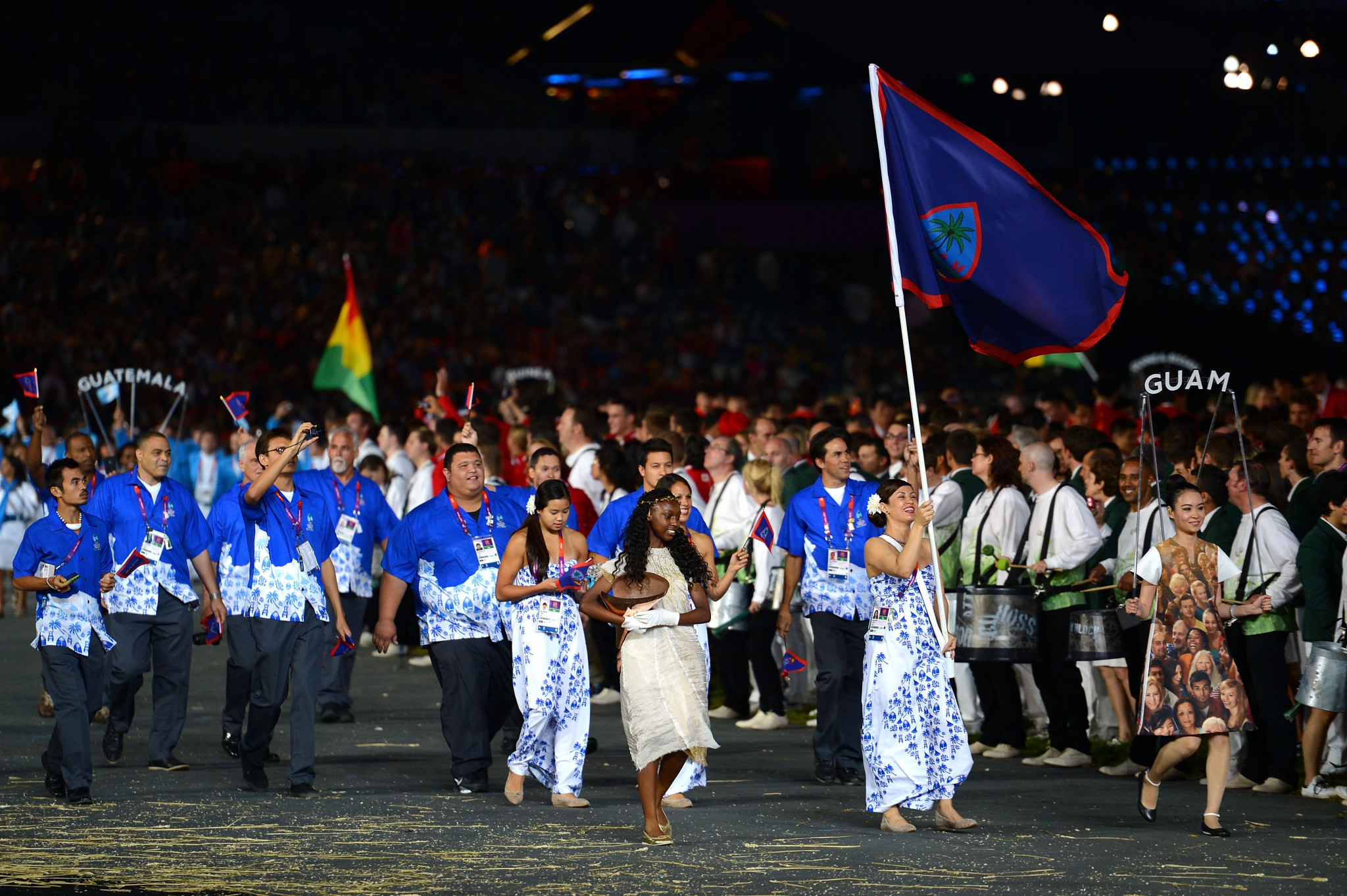 The Guam National Olympic Committee's sponsor has released a series of videos ©Getty Images