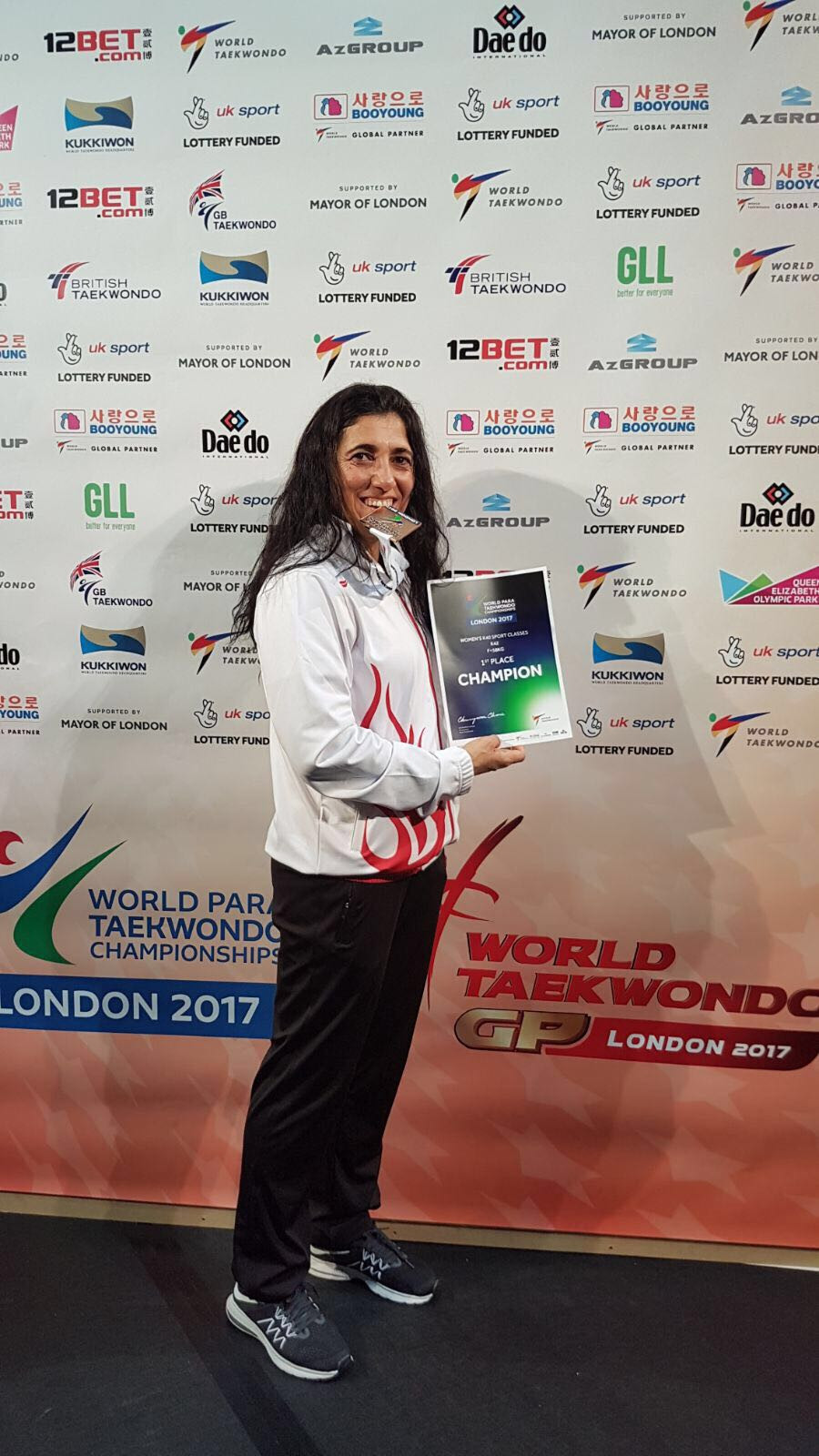 Turkish Para-taekwondo athlete Karatay staying positive during COVID-19 pandemic