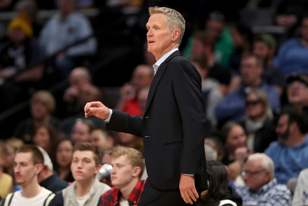 US assistant coach Steve Kerr says he has not discussed Tokyo 2020 with head coach Gregg Popovich ©Getty Images