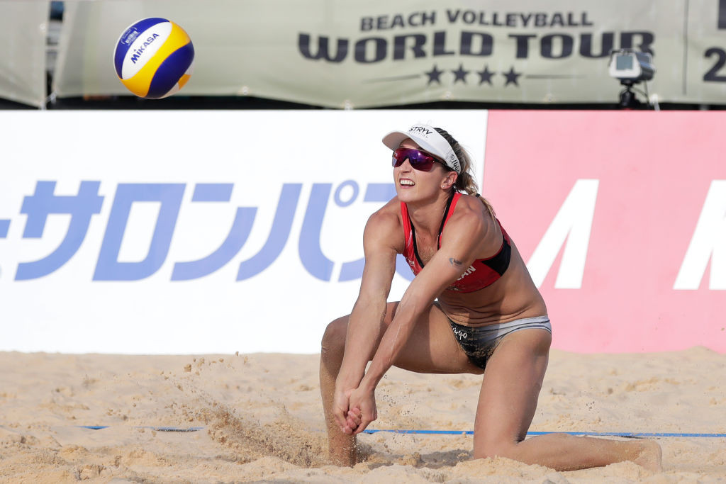 The FIVB Beach Volleyball World Tour has been suspended since mid-March ©Getty Images